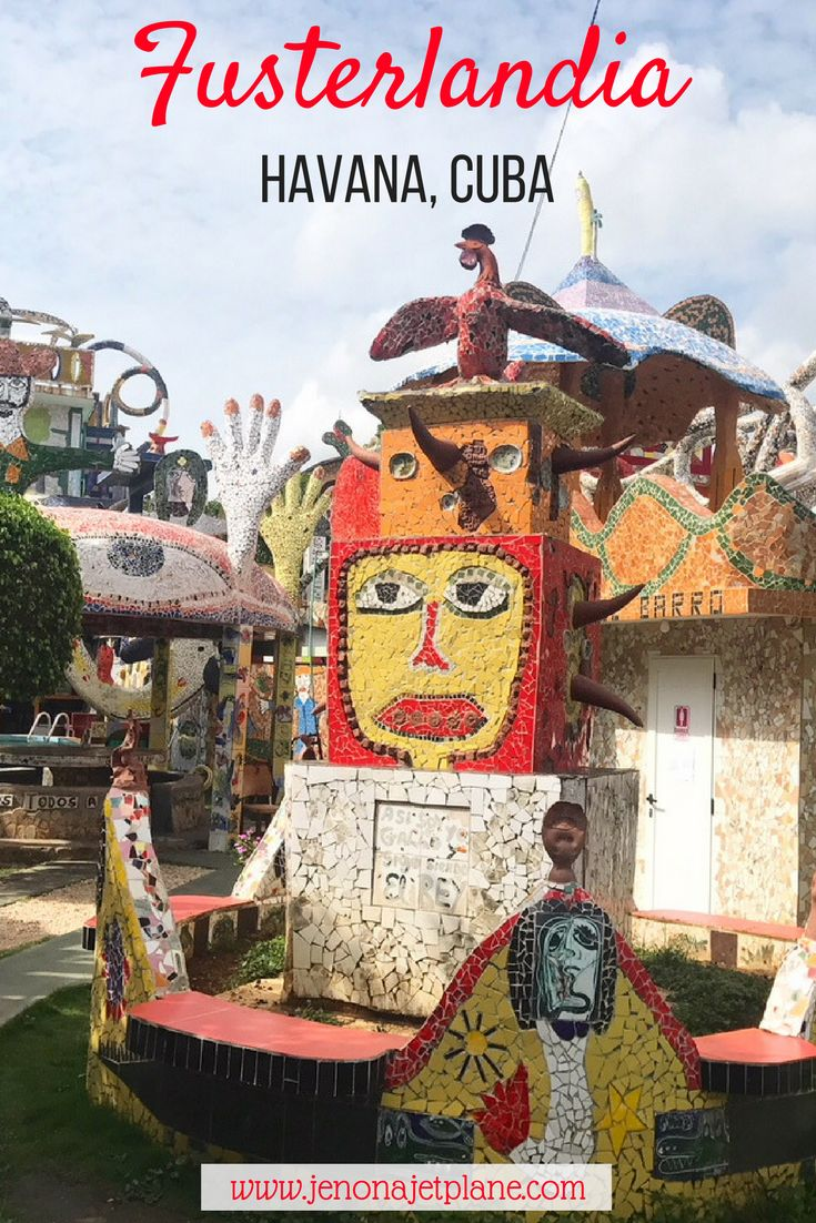 Fusterlandia is an outdoor art gallery by Jose Fuster. Featuring three stories of mosaic tile and free to enter, it's a must-see while visiting Cuba! Click to learn more.