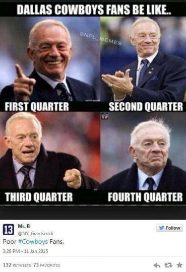 January 11, 2015 Dallas Cowboys @ Green Bay Packers, Score ...