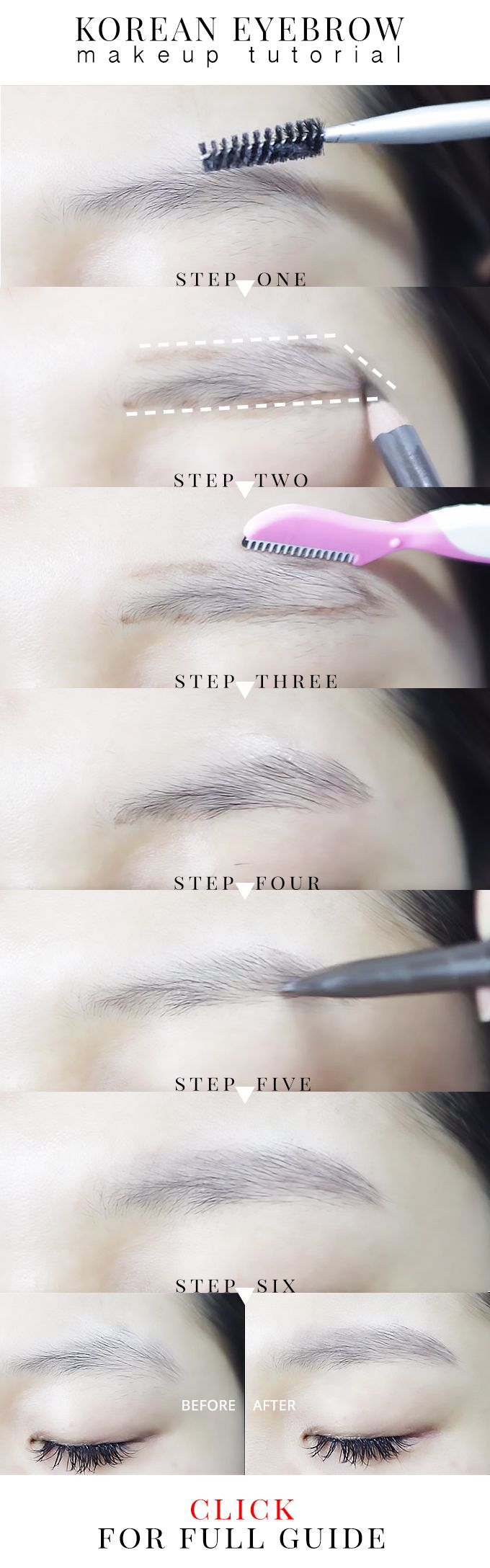 Have you been wonder, how to shape eyebrows naturally? Check this simple tutorial for beginners on how to shape or trim their eyebrows!
