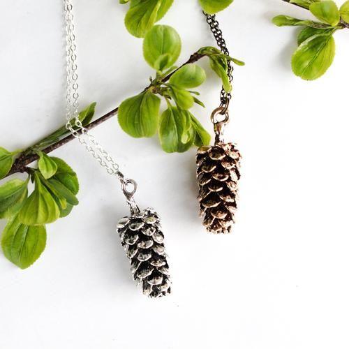 Birch Jewellery - Pine Cone Necklace