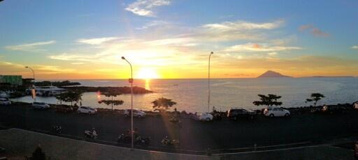 sunset 20130416