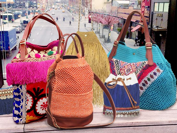 Crochet Bags -Elliot Mann llc - Outstanding Bags