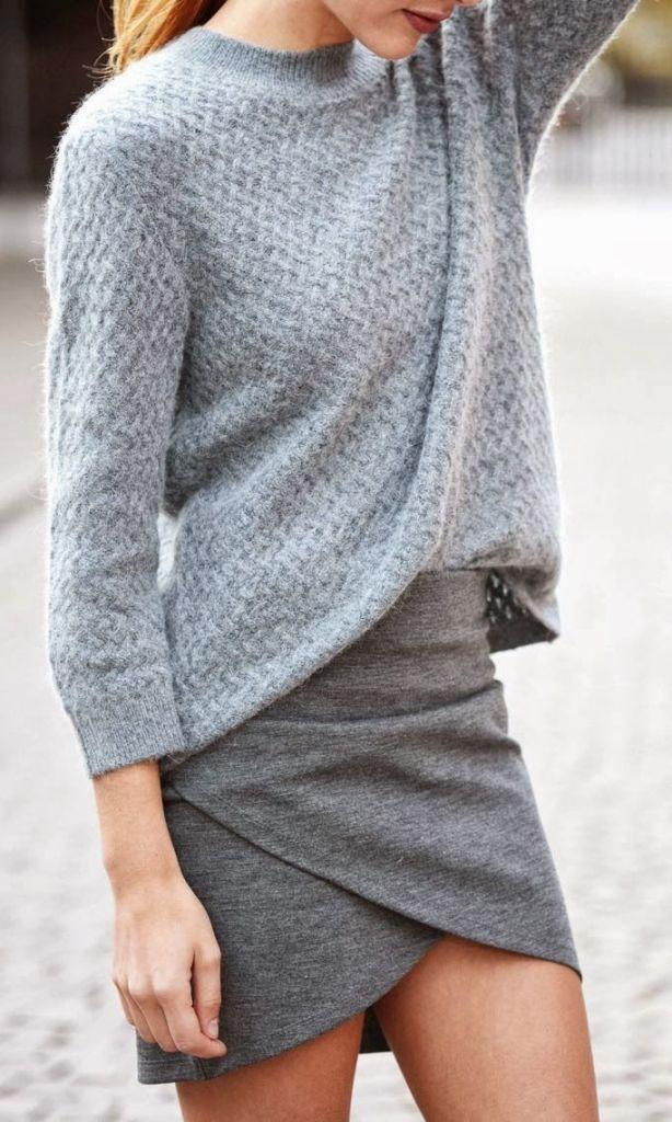 #street #style / fall shades of gray