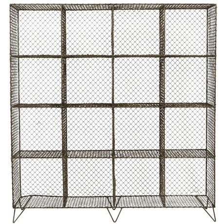 $999 Framed Storage Unit 16 Cube For Real Living  Steel