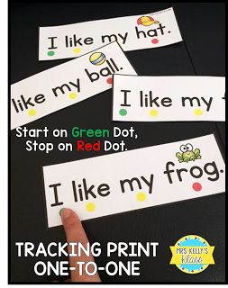 Lots of ideas for teaching Concepts of Print!