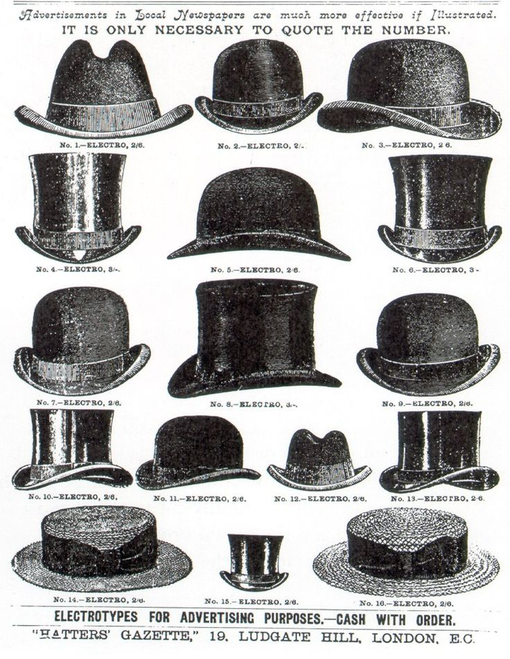 Yes, you can find all of these hats at our Dandy's #haberdashery.  complimentary axe with every purchace