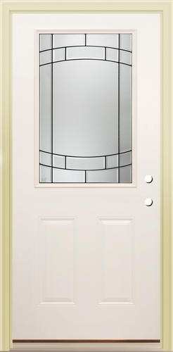 Sv 106 1 2 lite prehung steel door 32 for the home for Mastercraft storm doors