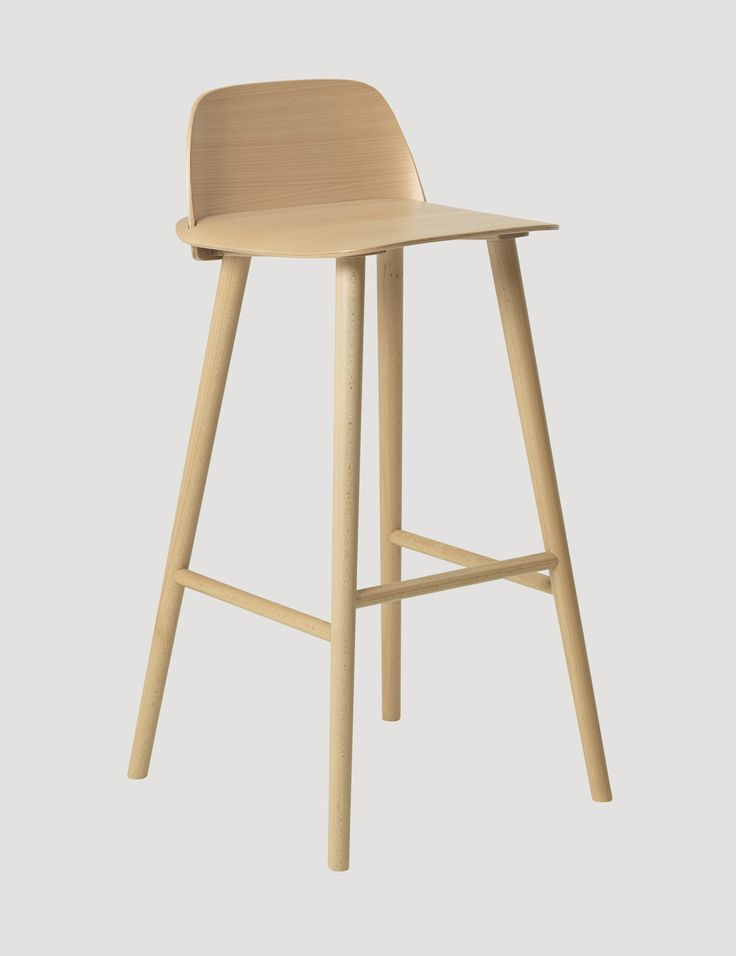 The NERD chair is a modern Nordic take on the iconic all-wood chair that effortlessly reflects its classic Scandinavian design heritage. The seamless integration of the NERD's back and seat is a unique feature providing both enhanced comfort and an inviting personal look. Crafted with the highest quality materials, the NERD chair provided the winning design for the Muuto Talent Awards 2010.