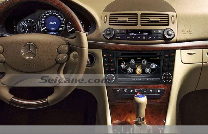 chaud OEM système de Sat Nav pour 2001-2008 Mercedes Benz G W463 avec Radio Tuner 3G WiFi Bluetooth Lecteur DVD CD AUX DVR 1080P MP3 Ipod