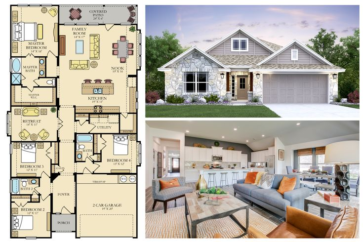 On A Scale From 1 To 10 How Would You Rate The Design Of This Rosso Plan 210 393 8095 Quickmovein B New Homes For Sale New Homes Building A House