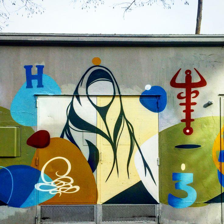 By @_hazul_ #hazul  #streetart #graffiti #streetartist #graffitiart #graffitiigers #spray #spraypaint #sprayart #bombing #wall #urbanart #instagraff #instagraffiti #nirindastreet  Rue Ourcq #paris