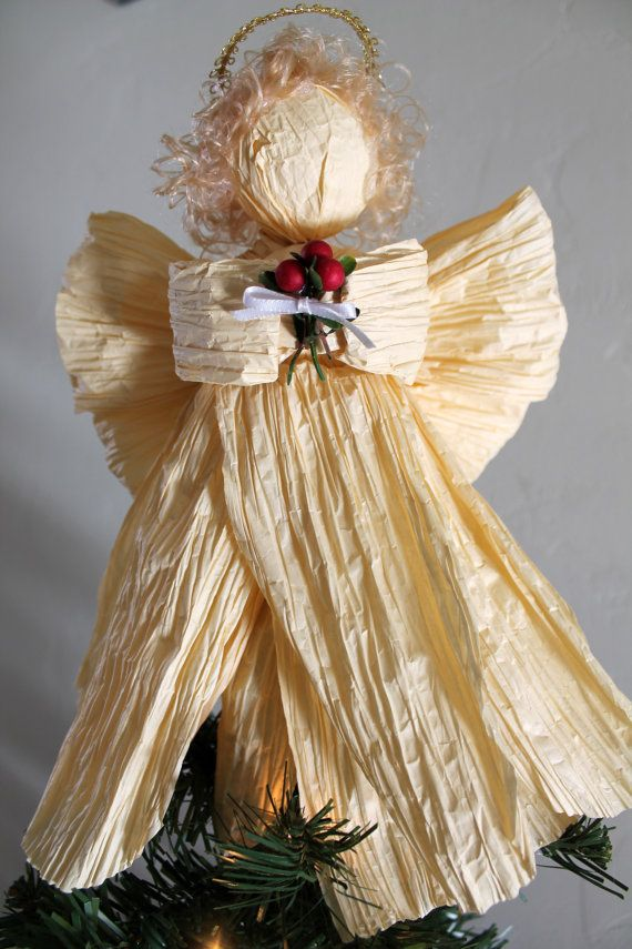 Paper Twist Angel (Christmas Angel/Remembrance Angel)