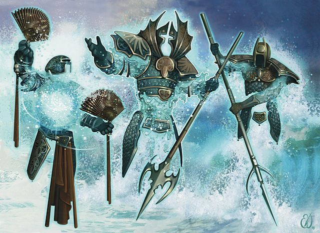 Water Elemental - Dungeons and Dragons Wiki - Wikia