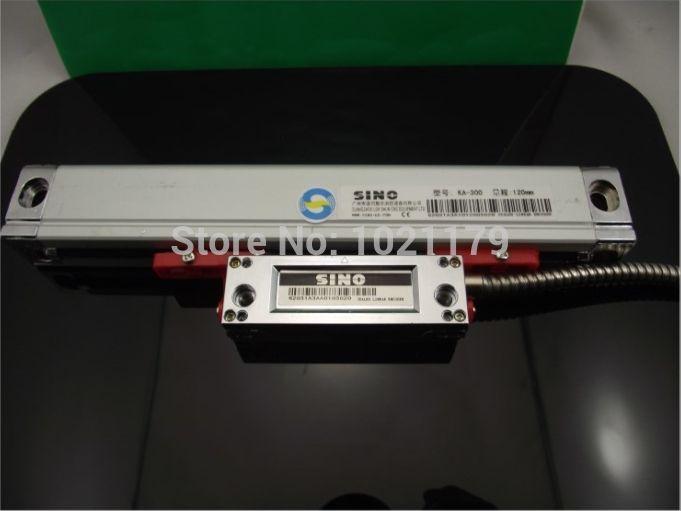 Китайско линейная шкала 0.005 мм резолюции Китайско КА-300 270 мм