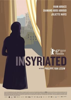 Insyriated by Philippe Van Leeuw. Berlinale Panorama. Poster.
