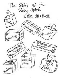 Lds Gifts Of The Holy Spirit Coloring Pages Sketch Page