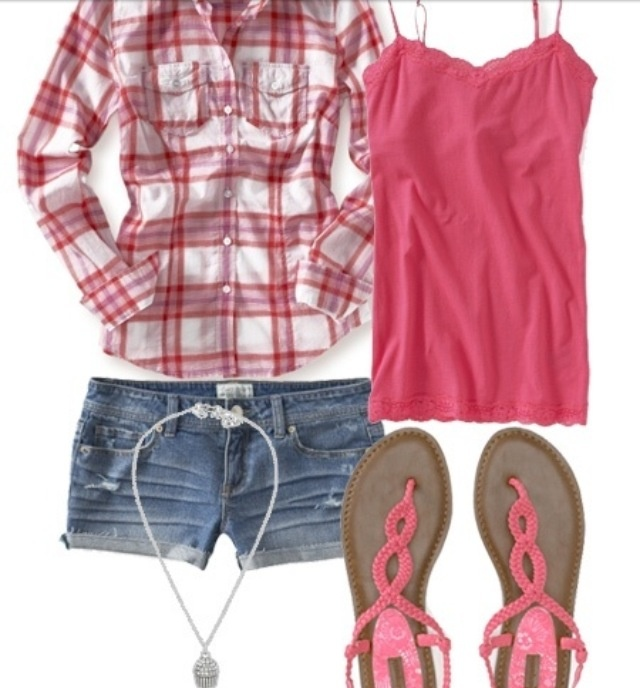 Cute cowgirl outfit would be better with boots