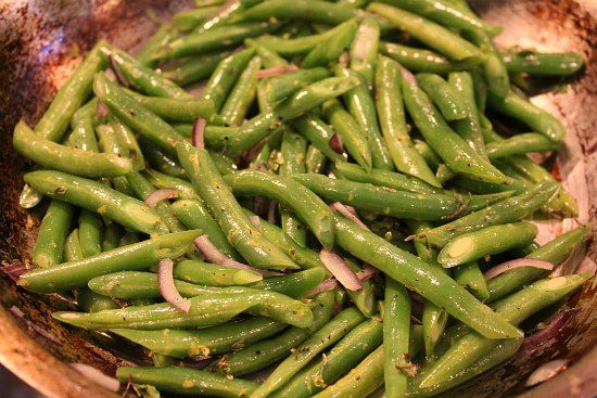Green Beans with Lemon and Herbs