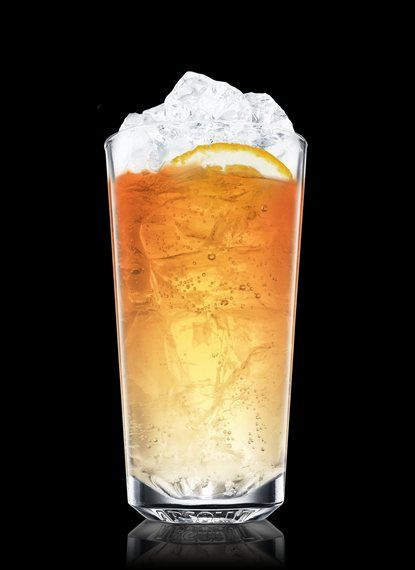 Absolut Apeach Dream - Fill a chilled highball glass with ice cubes. Add Absolut Apeach and pineapple liqueur. Top up with orange soda. Garnish with orange and peach. 4 Parts Absolut Apeach, 2 Parts Pineapple Liqueur, Orange Soda, 1 Slice Orange, 1 Slice Peach