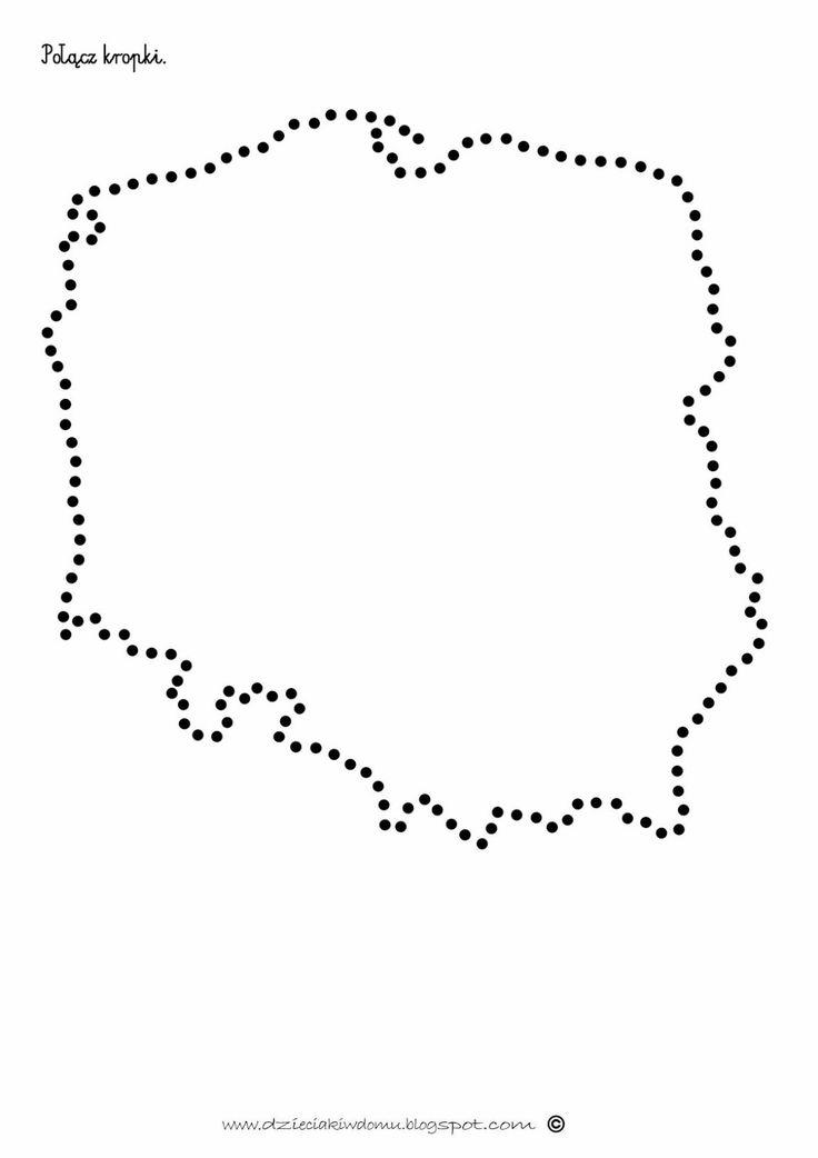 polska+kontury+kropki+.jpg (1130×1600)
