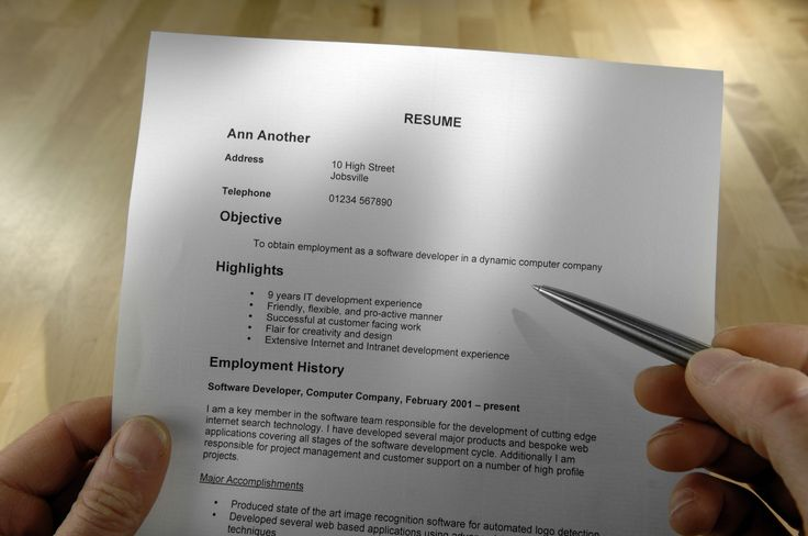 How to choose the best resume format for your employment situation, what to include in a resume, how to format it, and examples of resumes for jobs.