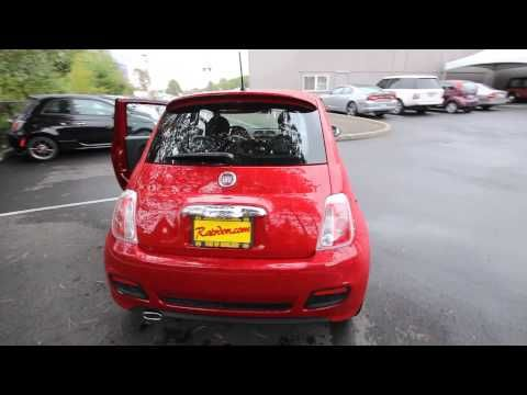 DT745508 | 2013 Red Fiat 500 Pop | Rairdon's FIAT of Kirkland |