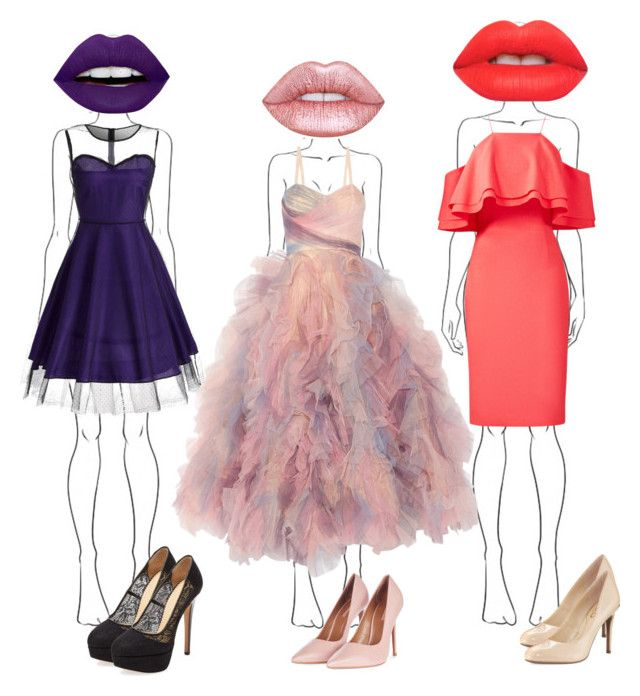 """""""Thx for 200 followers🎀. It's amazing😁😁"""" by emmely201 on Polyvore featuring Lime Crime, LunatiCK Cosmetic Labs, Marchesa, Topshop, Charlotte Olympia, Circus by Sam Edelman and Badgley Mischka"""