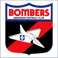 Essendon Bombers old school logo