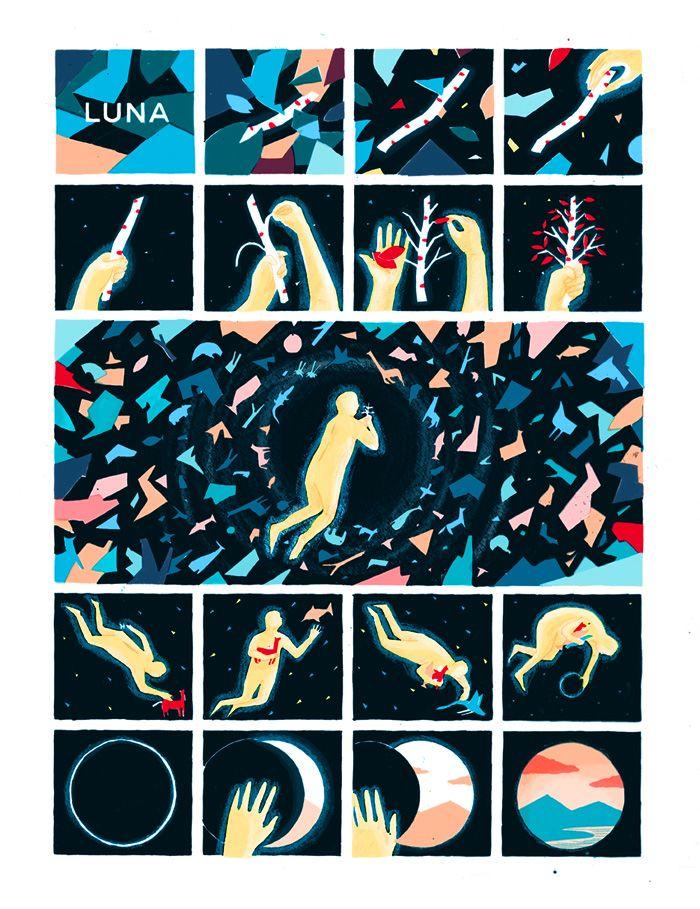 Luna, A Graphic Cosmogony - Robert Frank Hunter