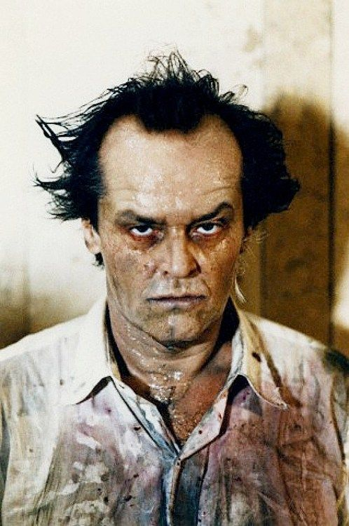 Jack Nicholson make-up test from The Witches Of Eastwick.