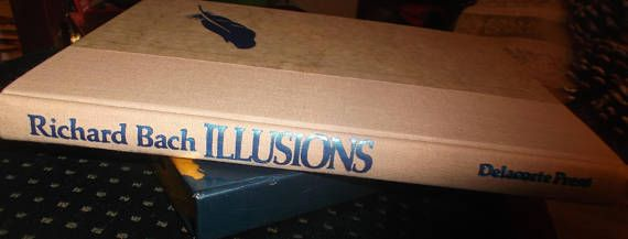 Illusions by Richard Bach 1977 deluxe slip case edition