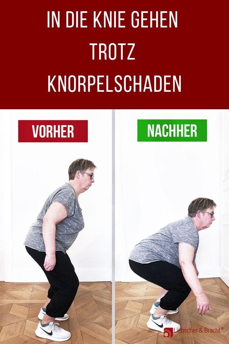 2 Übungen bei Knieschmerzen, die du unbedingt ausprobieren ...