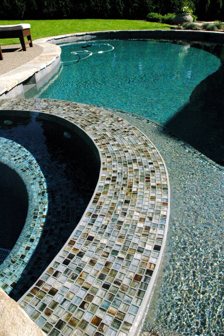 119 best images about swimming pool tile designs on pinterest - Swimming pool tiles designs ...