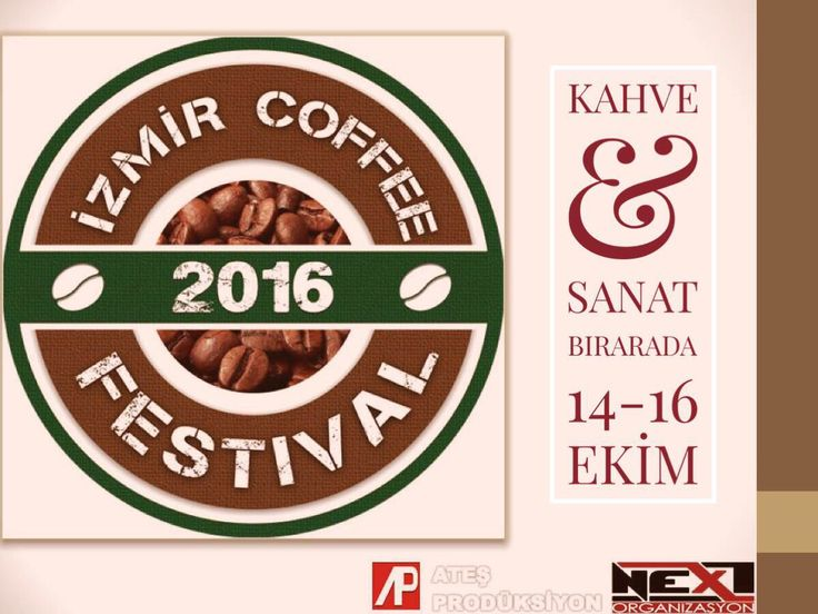 Workshops, art, concert,and more than this you can find at Izmir Coffee Festival