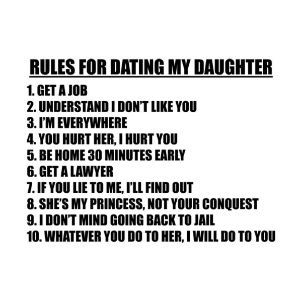 7 rules for dating my daughter cast Summary: [originally known as 8 simple rules for dating my teenage daughter during season 1] movie title data, credits, and poster art provided by imdb.