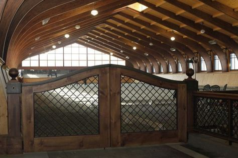 Horse Barn indoor riding arena. YES PLEASE! A girl is allowed to dream right?