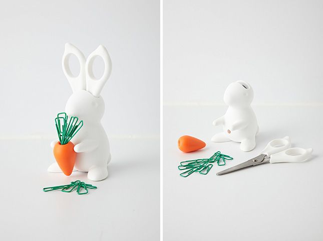 Workspace Bunny | 30 Silly Office Supplies Guaranteed to Make You Smile via Brit + Co.