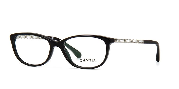Chanel 3221Q 1074 Black Glasses | Pretavoir