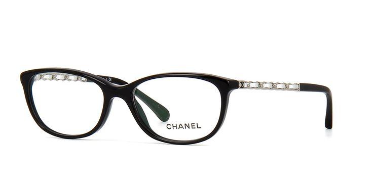 Chanel 3221Q 1074 Black Glasses | Pretavoir