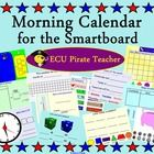 Morning Calendar for the Smartboard is a great way to get your day started! This morning calendar practices multiple skills- adding, subtracting, calendar, days of the week, months of the year, hundreds blocks, tally marks, money, time, temperature, weather, numbers, and patterns!
