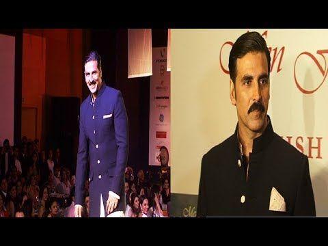 Akshay Kumar walks the ramp for MEN FOR MIJWAN fashion show.