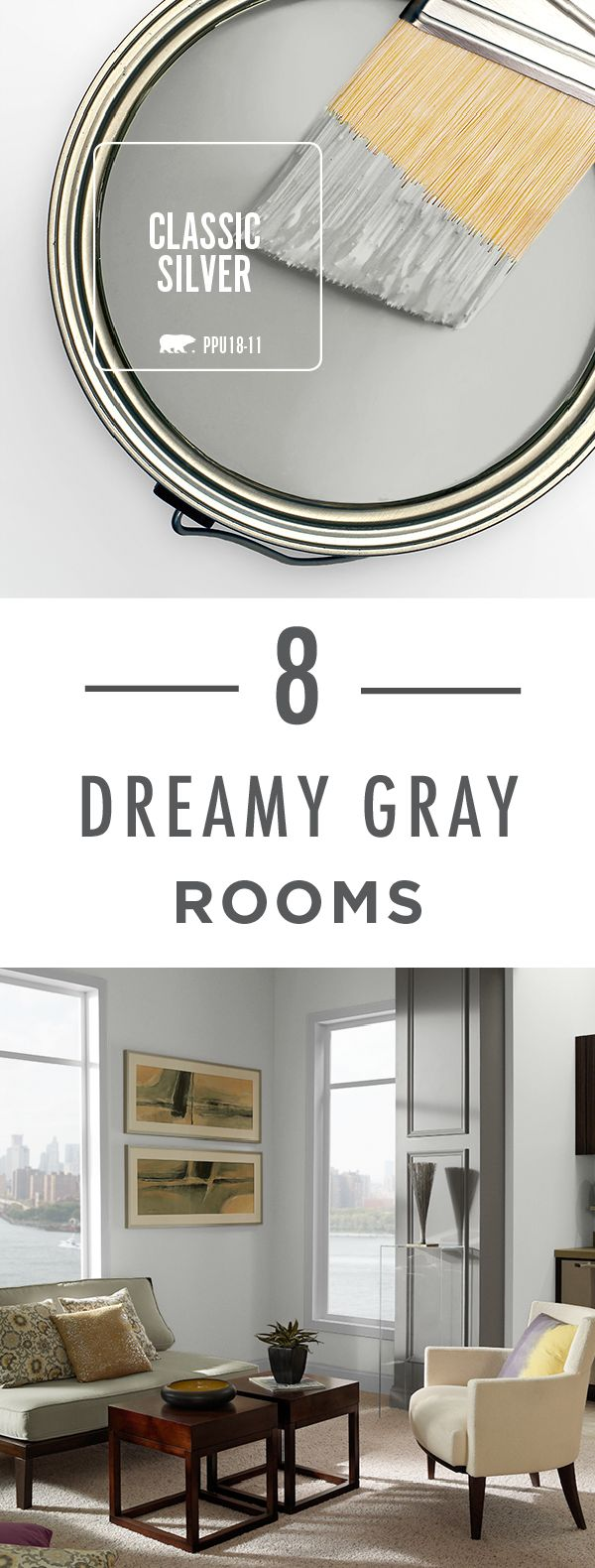 99 Best Images About Gray And Black Rooms On Pinterest