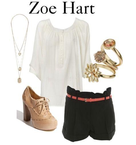 Calções pretos + camisa branca + sapatos cunha camel