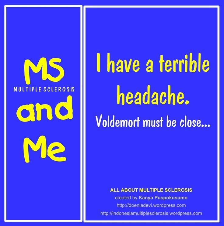 I have a terible headache