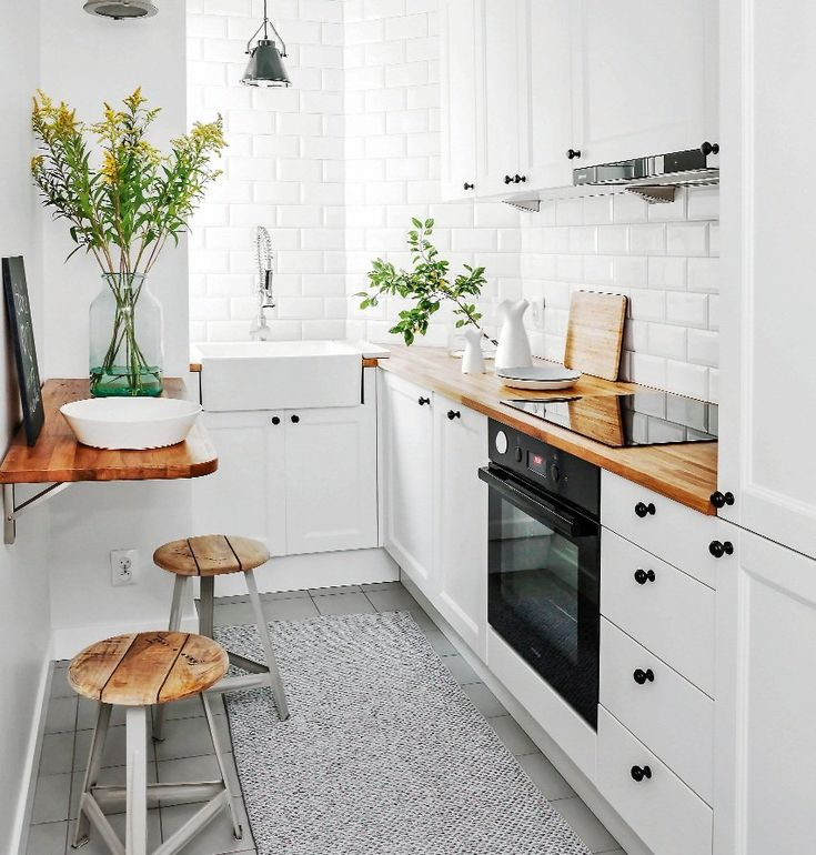 Mała kuchnia w bloku