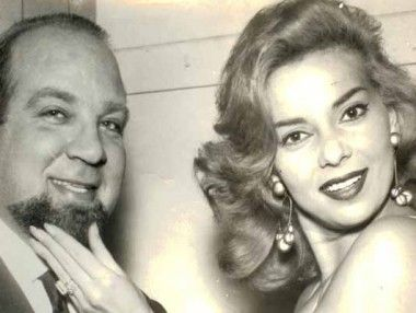 My father Tom Ponzi with Abby Lane famous american actress and singer .. Miriam Tomponzi
