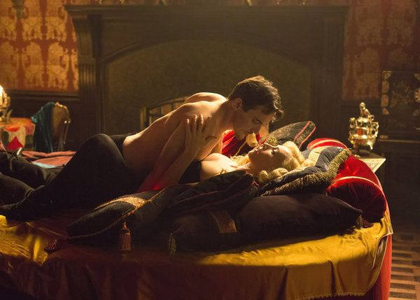 Jonathan Rhys Meyers and Victoria Smurfit in Dracula (2013)