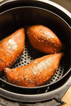 Air Fryer Baked Sweet Potato recipe results in a sweet potato baked to perfection!