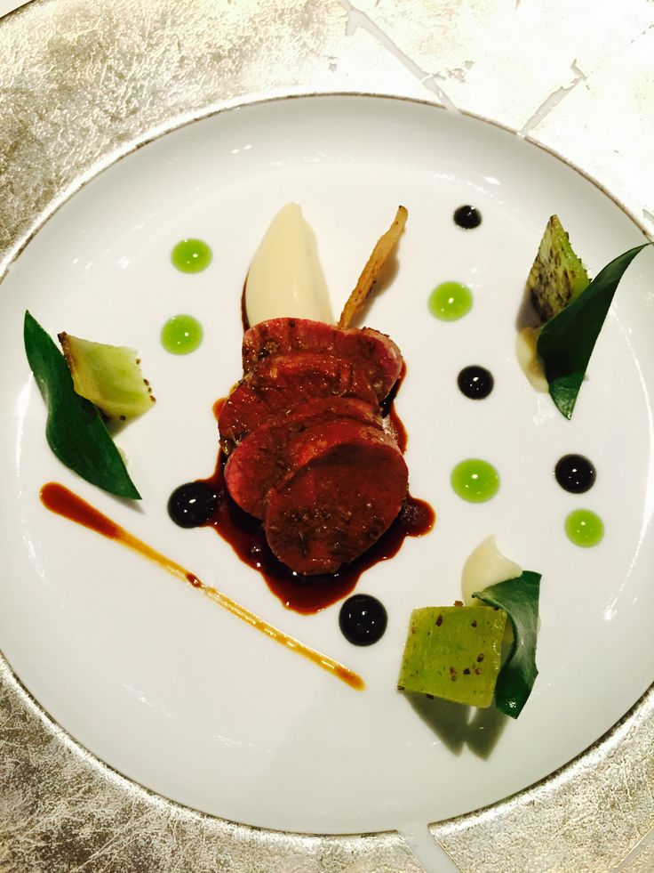 Lamb with Cucumber: Green Pepper and Caraway