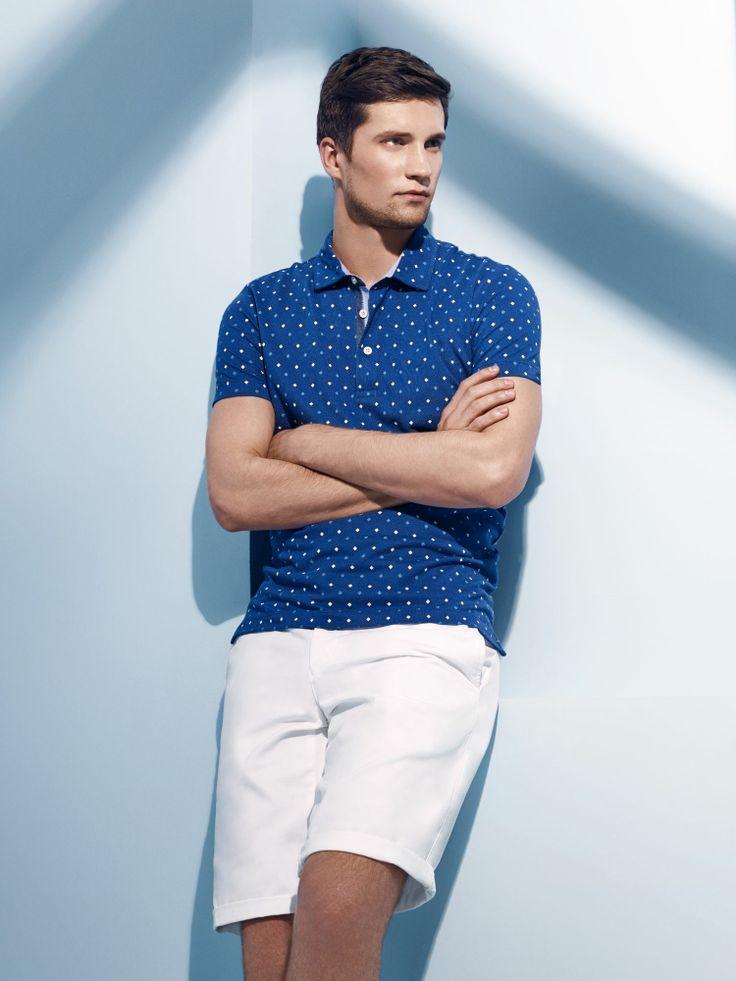 TWN Spring/Summer 2014  #TWN #Newseason #SS2014 #DsDamat #mensfashion #menstyle #fashion #style #casual #shorts #shirt #blue #white